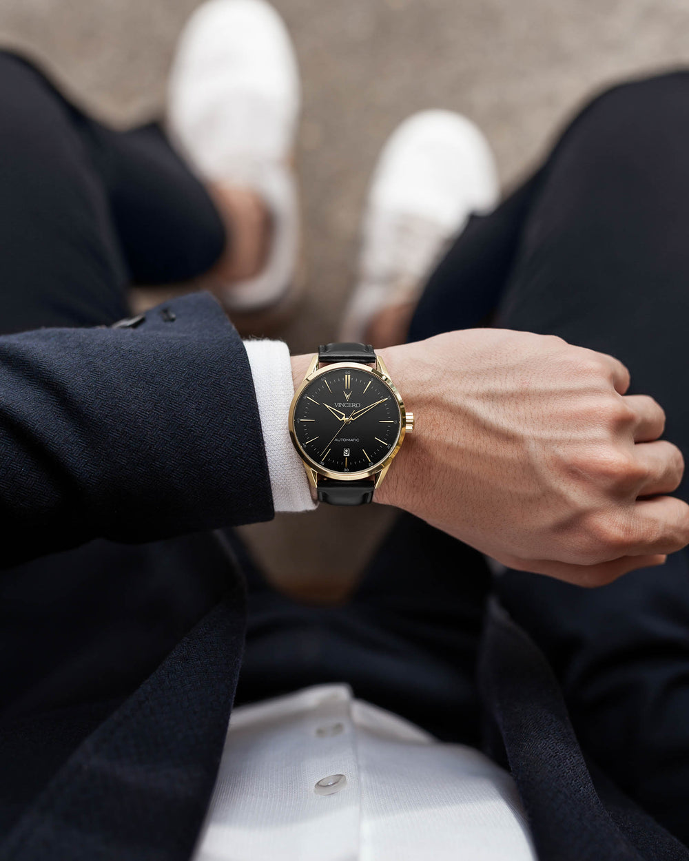 Icon Automatic - Black/Gold