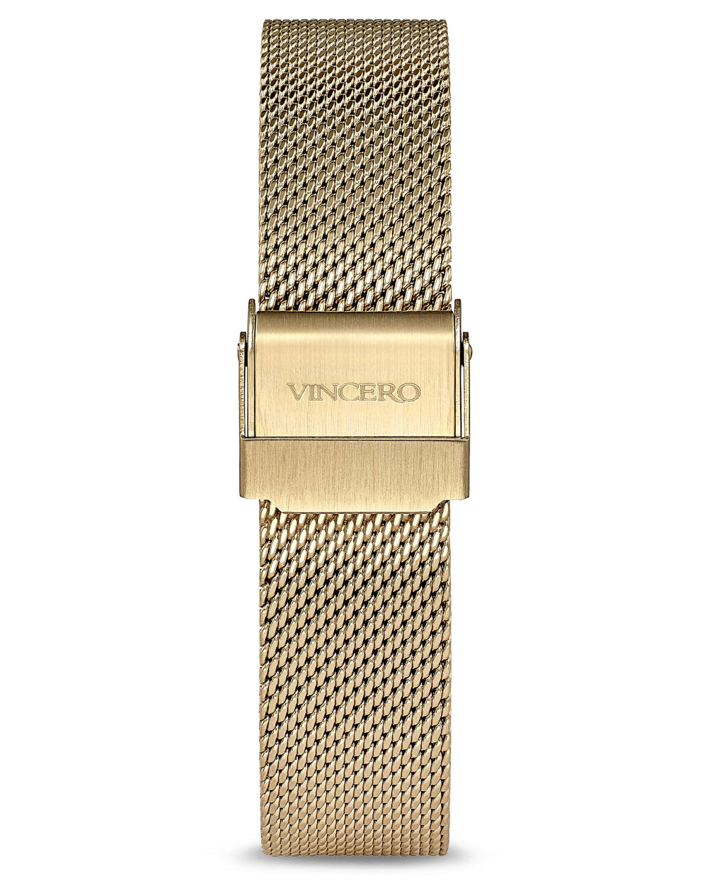 Women's Luxury Gold 316L Stainless Steel Mesh Strap