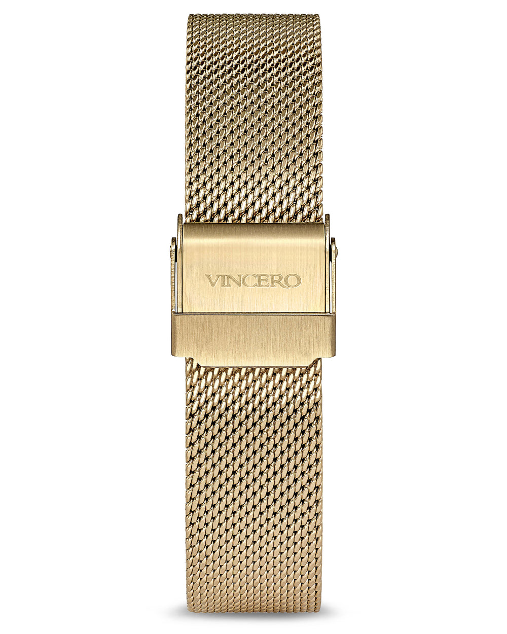 Eros Gold 316L Stainless Steel Mesh Strap