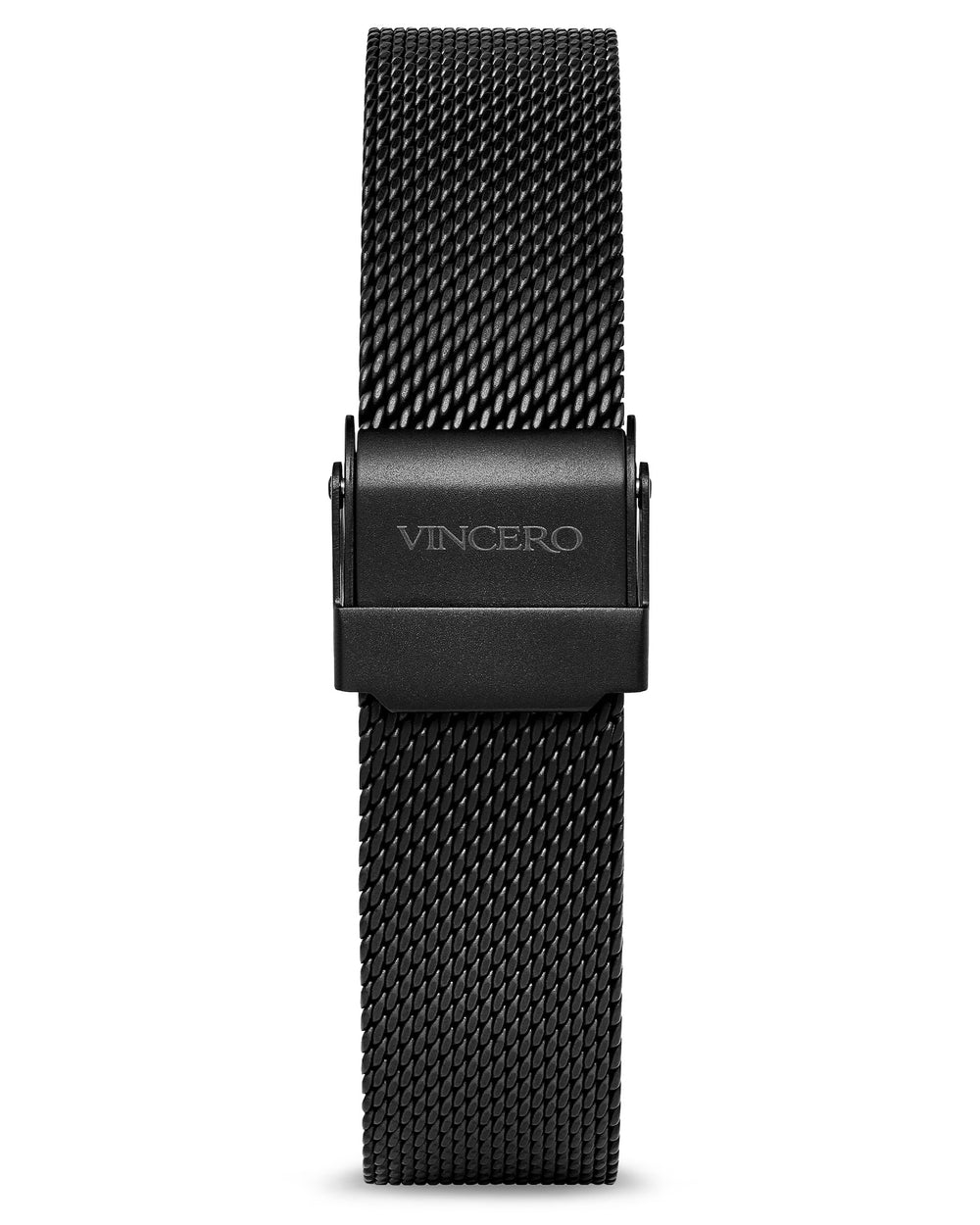 Black 316L Stainless Steel Mesh Strap