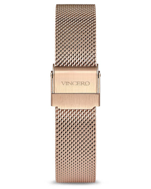 Mesh Strap - Rose Gold 16mm
