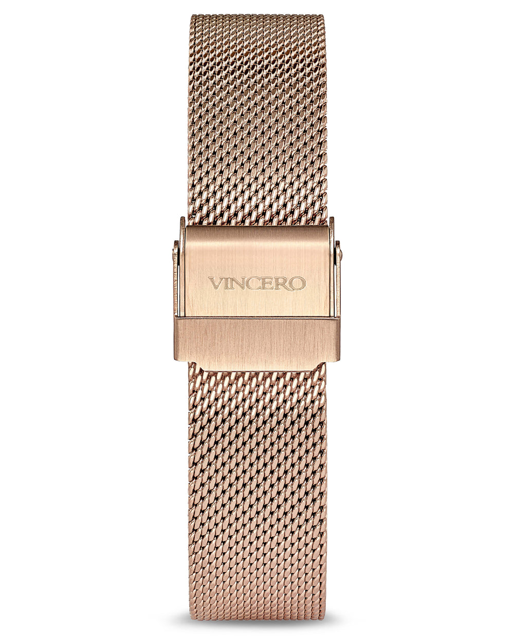 Kleio Rose Gold 316L Stainless Steel Mesh Strap