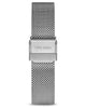 Eros Silver 316L Stainless Steel Mesh Strap