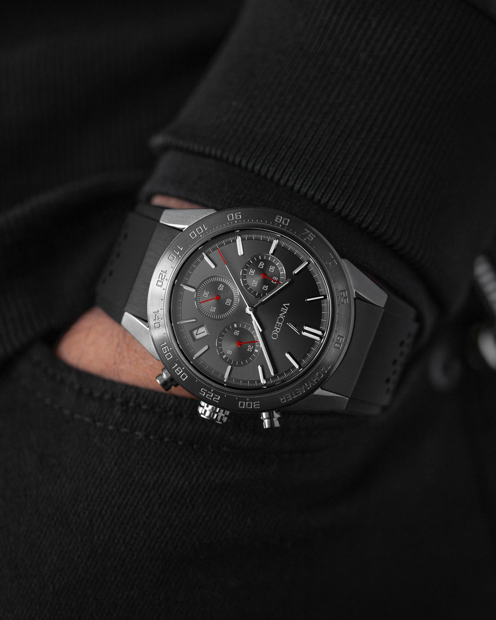 The Rogue Limited Release - Gunmetal + Red
