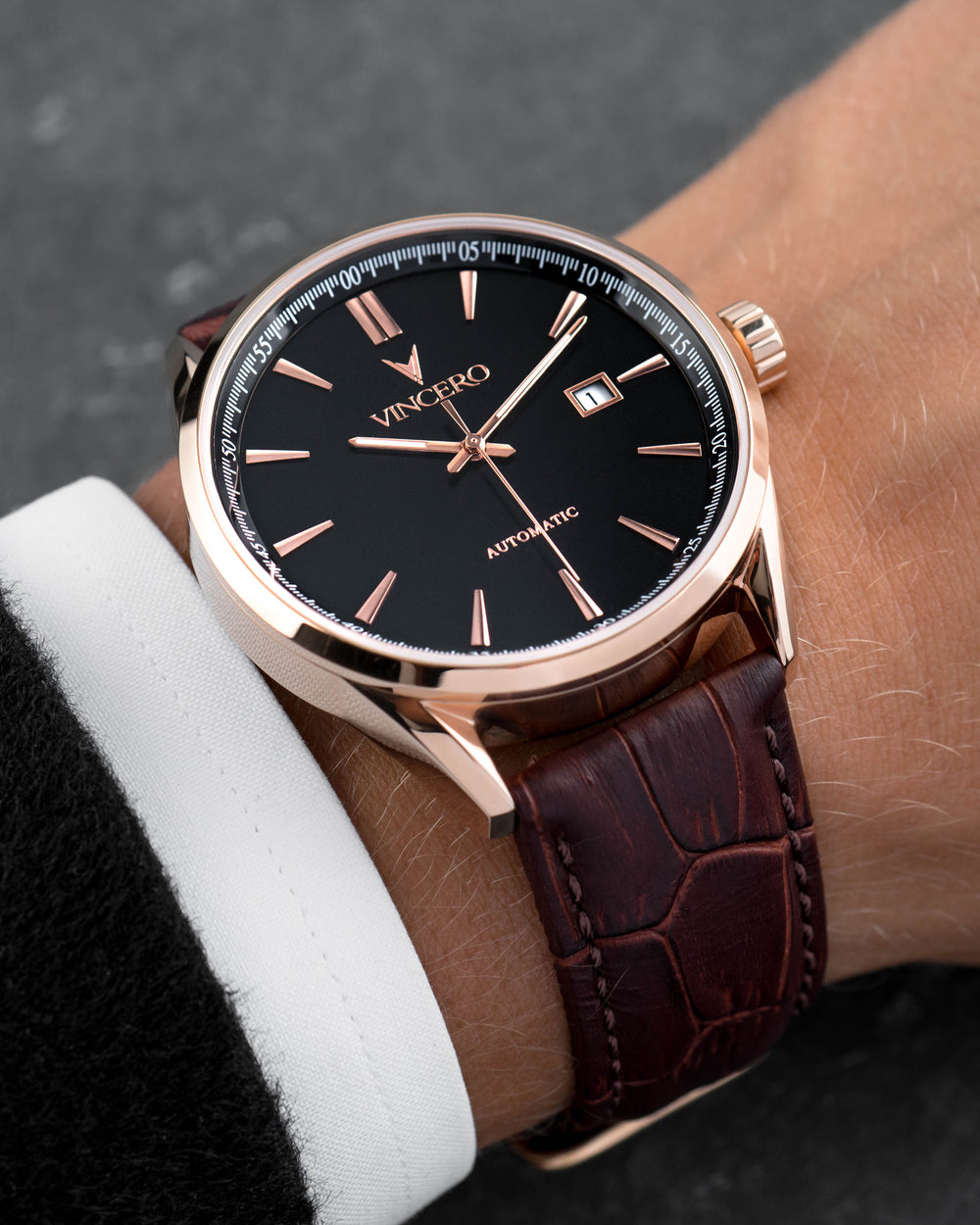 Kairos Automatic - Rose Gold