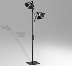 Ribalta 2 light floor lamp by Guido Vrola