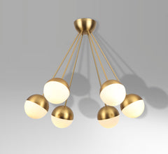 EL095 EBLE ball ceiling lamp retro stilnovo