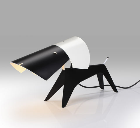 Dog lamp by Boris Lacroix