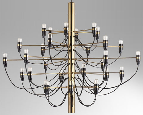 2097 Chandelier by Gino Sarfatti