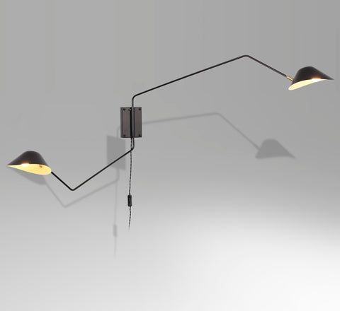 2-head Long Wall Lamp