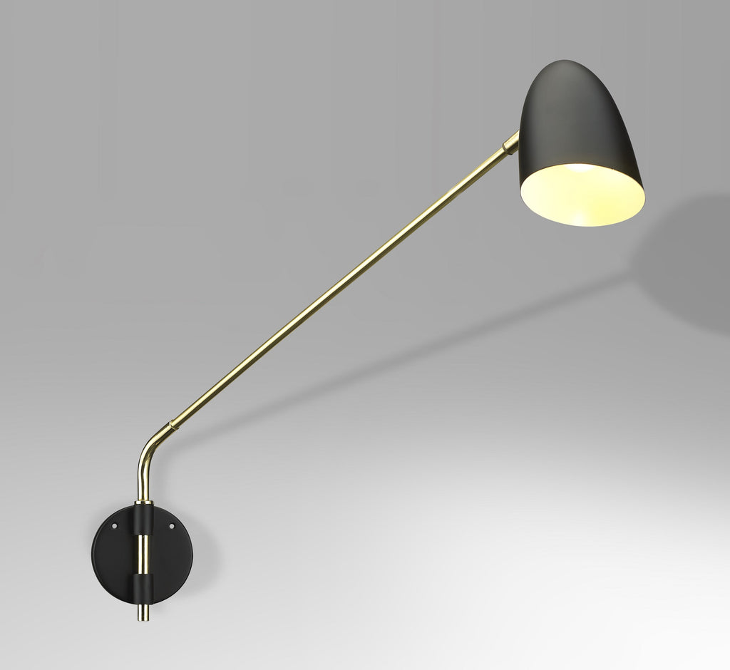 French swiveling potence lamp