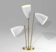 Greta Grossman 3-head table lamp Bergbom