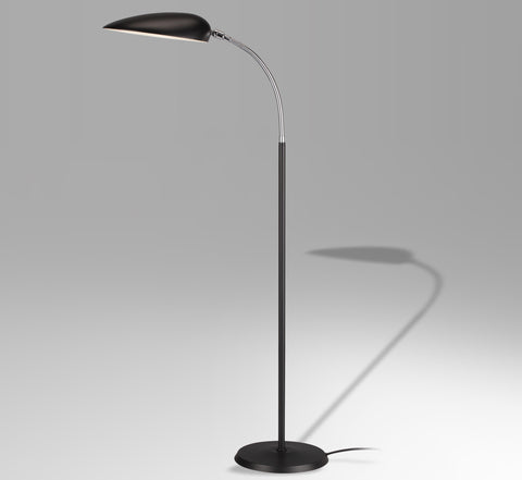 Cobra floor lamp by Greta Grossman