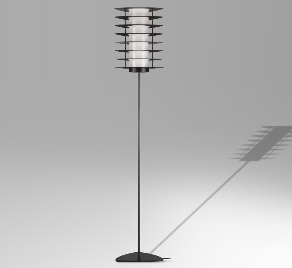 mid-century inspired modern floor lamp by Guido Vrola Italy