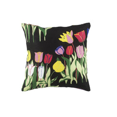 Pillow cover in linen fabrics - Tulip