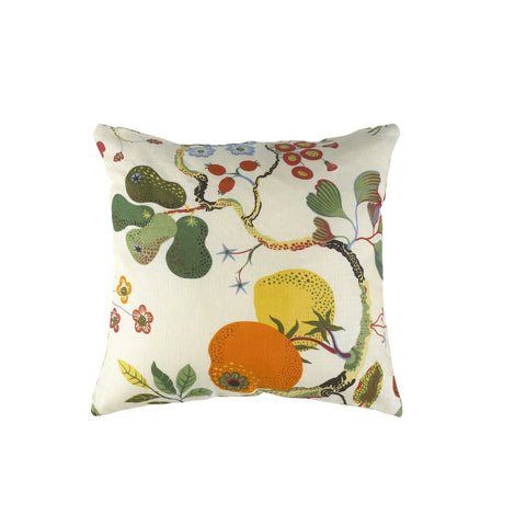 Pillow cover in linen fabrics - Vegetable Tree