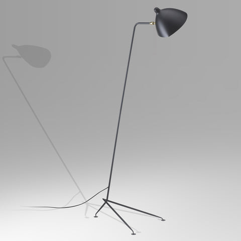 Lampadaire simple by Serge Mouille