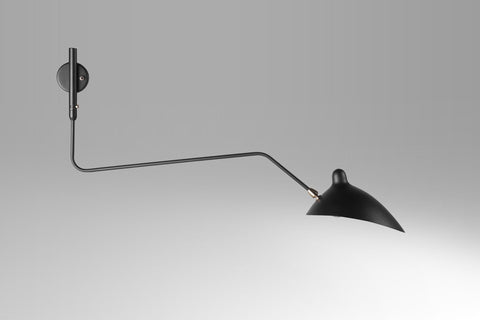 1-armed wall lamp by Serge Mouille