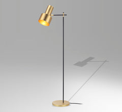 Retro Brass Floor Lamp