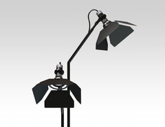Ribalta floor lamp by Guido Vrola