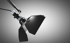 Ribalta long arm lamp by Guido Vrola