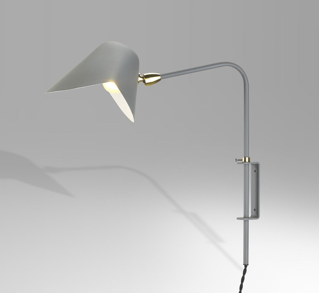 Serge Mouille Antony wall lamp