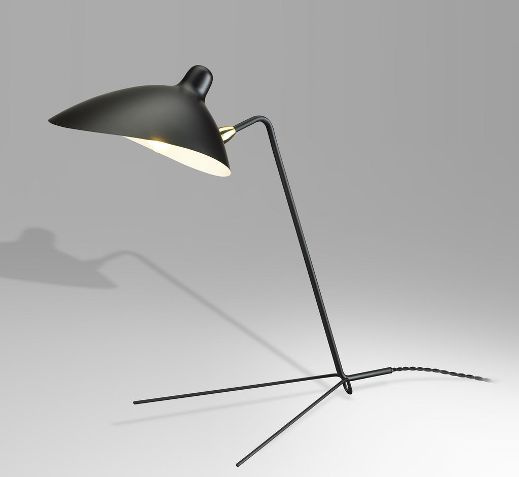 Casquette task lamp by Serge Mouille