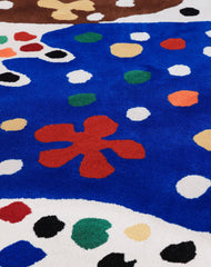 Hand tufted carpet Josef Frank Matta