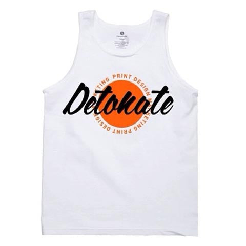 Men Summer Tank - White