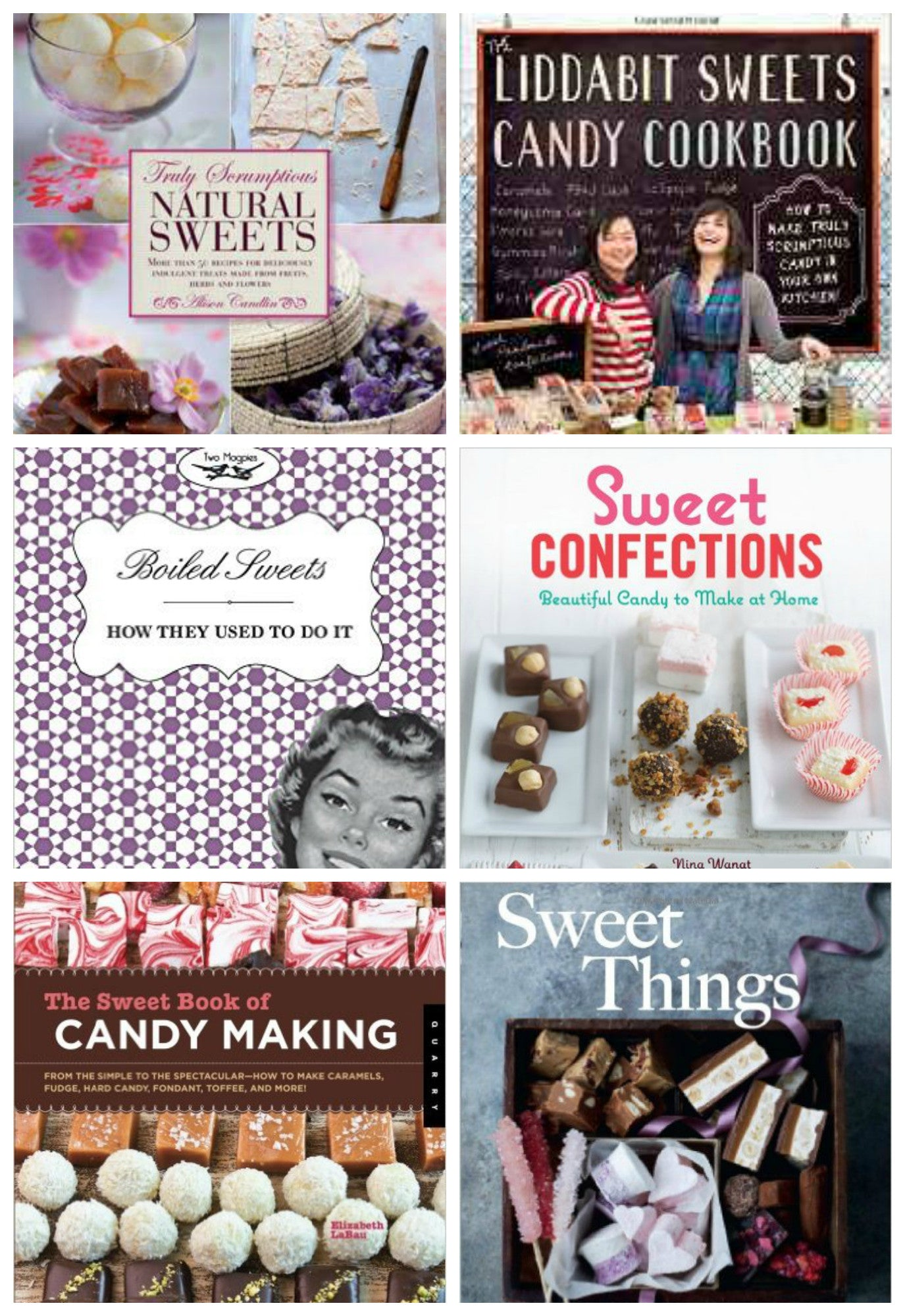 top candy recipe books tout de sweet confections