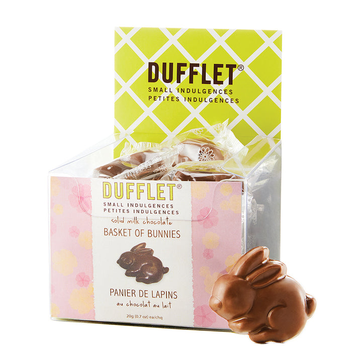 Dufflet Milk Chocolate Mini Bunnies