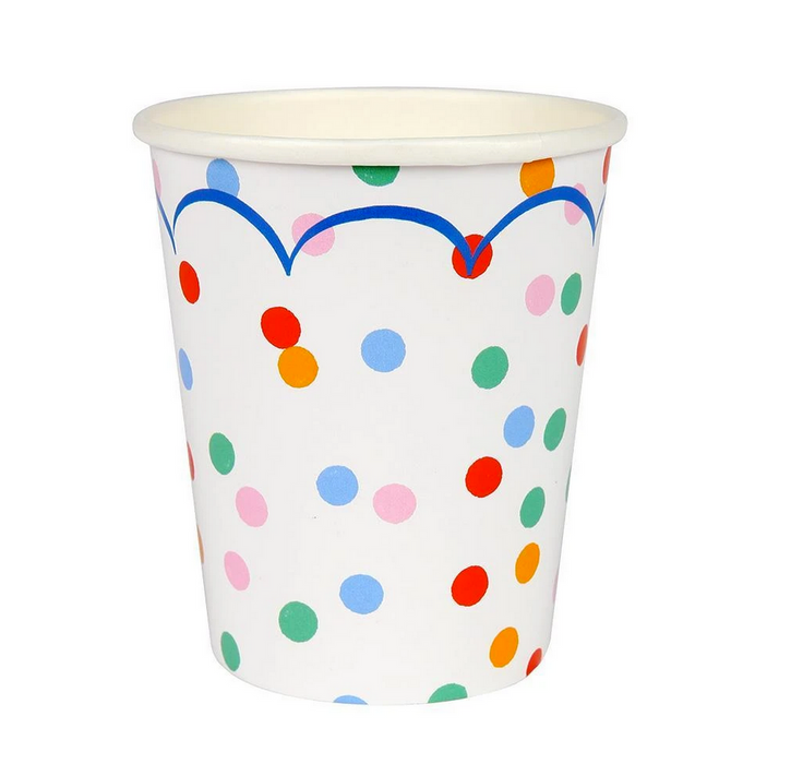 Toot Sweet Polka Dots Party Cups