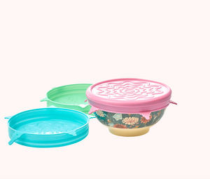 Rice DK Silicone Lid for medium melamine bowl