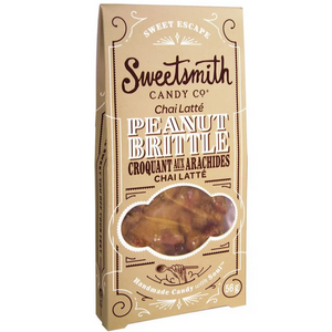 Sweetsmith Chai Latte Peanut Brittle