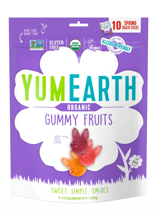YumEarth Easter Organic Gummy Fruits (bunnies)