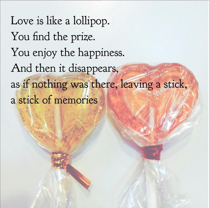 Sweetheart Lollipops