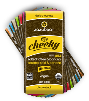 Zazubean Organic Chocolate Bars