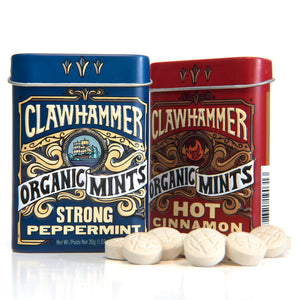 Clawhammer Organic Mints