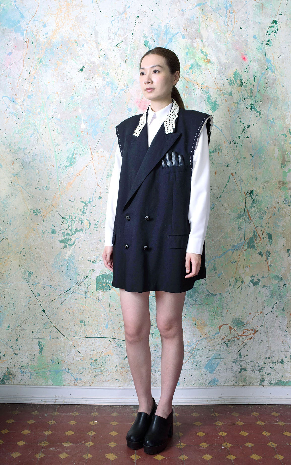 Shell Button Jacket