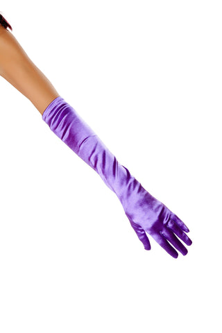Stretch Satin Gloves