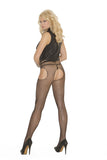 Fishnet Suspender Pantyhose