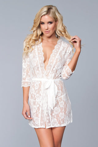 Lola Over Lace Robe
