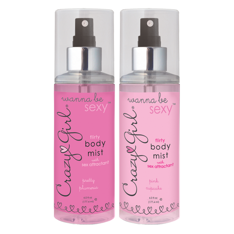 CRAZY GIRL® Wanna Be Sexy Flirty Body Mist - 6 fl oz