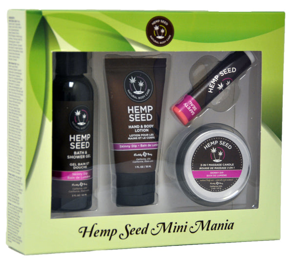 Hemp Seed Mini Mania Travel Set - Skinny Dip