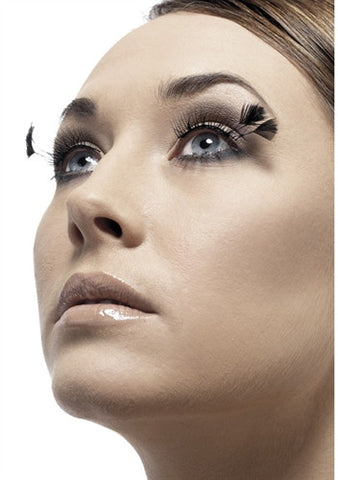 Corner Plume Eyelashes - Black