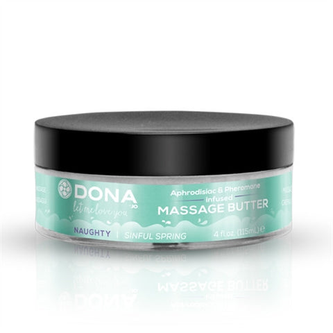 Dona Massage Butter Naughty Aroma - Sinful Spring (4 oz.)
