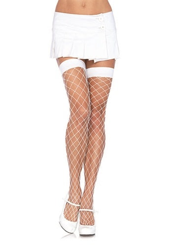 Fence Net Thigh Highs