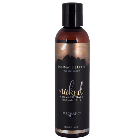 Intimate Earth Aromatherapy Oil Naked - Fragrance Free (4oz)