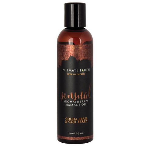 Intimate Earth Aromatherapy Oil Sensual - Cocoa Bean/Goji (4oz)