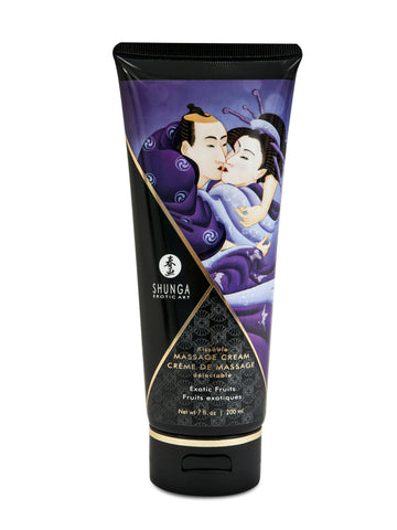 Kissable Massage Cream - Exotic Fruits (7 fl. oz.)